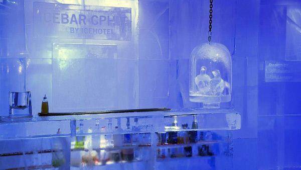 Bild 1 von 5: Kaltes Vergnügen: die Icebar in Kopenhagen