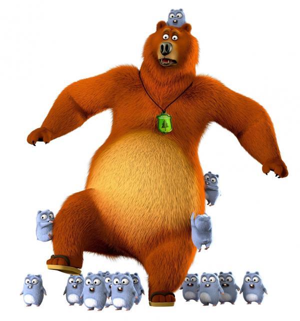 Bild 1 von 11: Als kluger und starker Grizzlybär kann einen nichts aus der Fassung bringen - sollte man meinen. Doch eine Horde Lemminge beweist das Gegenteil.