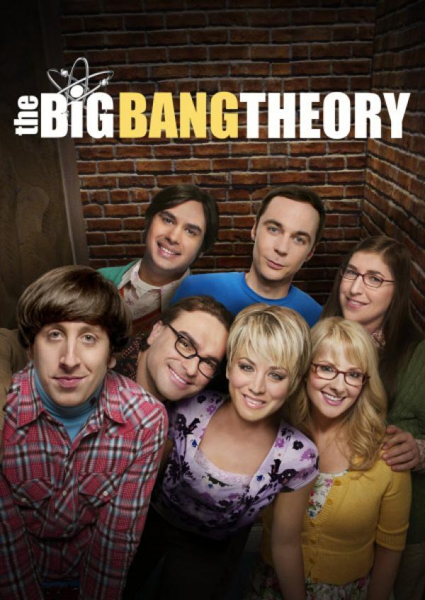 Bild 1 von 12: (9. Staffel) - Trotz ihrer Unterschiede sind sie eine super Truppe: Howard (Simon Helberg, vorne l.), Leonard (Johnny Galecki, vorne 2.v.l.), Penny (Kaley Cuoco, vorne M.), Bernadette (Melissa Rauch, vorne r.), Raj (Kunal Nayyar, hinten l.), Sheldon (Jim Parsons, hinten M.) und Amy (Mayim Bialik, hinten r.) ...