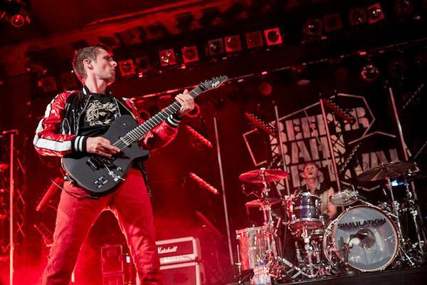 Bild 1 von 3: Der Auftritt des britischen Rock-Trios Muse bildet den Höhepunkt des diesjährigen Reeperbahn Festivals.