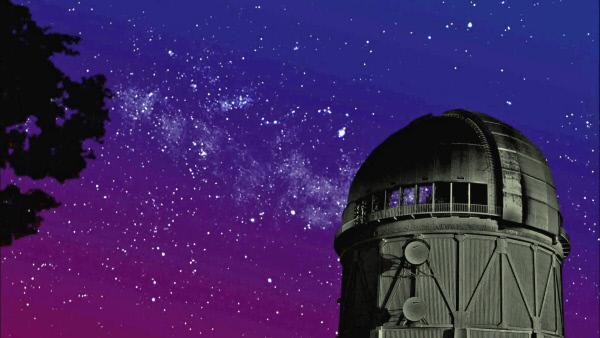 Bild 1 von 4: Unsere leistungsf�higsten Teleskope k�nnen hundert Milliarden Galaxien ausmachen, mit unendlich vielen Planeten. (Animation)