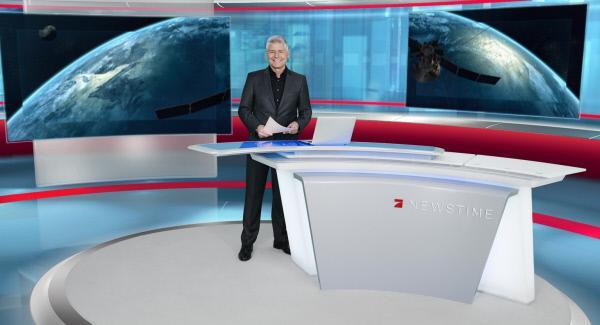 """Bild 1 von 4: """"NEWS TIME"""" wird unter anderem von Michael Marx präsentiert."""