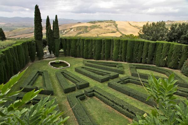 Bild 1 von 2: Die Renaissance bestimmt bis heute Landschaft und Gärten der Toskana