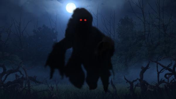 Bild 1 von 2: Von Dämonen glaubte man, dass sie sich beliebig verwandeln und in die Körper von Menschen eindringen konnten.
