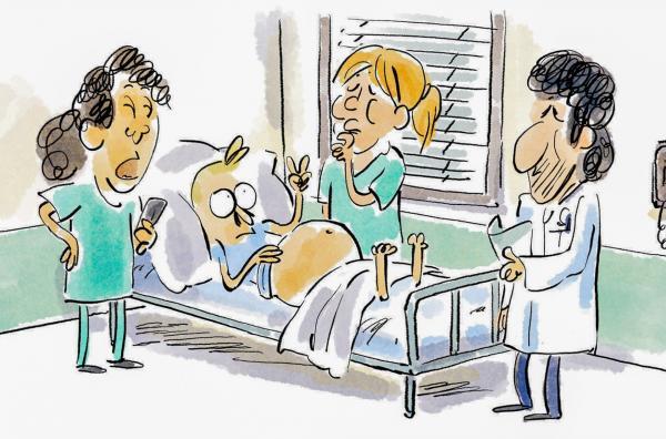 Bild 1 von 3: In dieser Folge geht es darum, wie realistisch Arztserien sind.