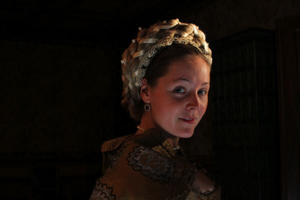 Bild 1 von 5: Nachdem seine erste Gemahlin gestorben ist, heiratet Gro§herzog Francesco seine M?tresse Bianca Capello (Ela Paul) und macht sie zur neuen Gran Duchessa