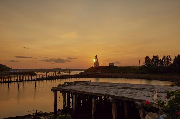 Bild 1 von 7: Der Leuchtturm am Mulholland Point