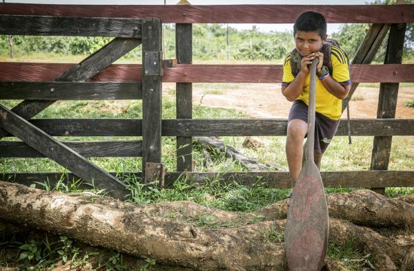 Bild 1 von 2: Der zehnjährige Juan lebt bei seinen Großeltern. Er möchte später gerne Ingenieur werden.