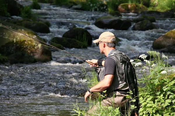 Bild 1 von 1: Ein Paradies für Fliegen-Fischer: die Mosel in Luxemburg