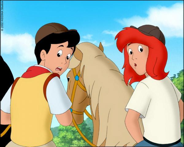Bild 1 von 5: Alex und Tina wittern Gefahr.