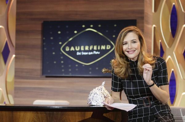 Bild 1 von 2: Moderatorin Katrin Bauerfeind