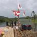 Ein Floß für die Weser