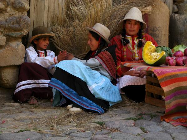 Bild 1 von 1: Die Nachfahren der Inka leben noch immer in den Anden.