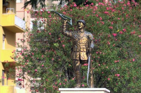 Bild 1 von 2: Die italienische Ortschaft San Pietro, auf halbem Weg zwischen Rom und Neapel gelegen, erlebte im Zweiten Weltkrieg zahlreiche Gräueltaten und ist deshalb heute Erinnerungsort.