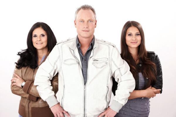 Bild 1 von 3: v.li.: Marta, Jürgen und Sharon Trovato