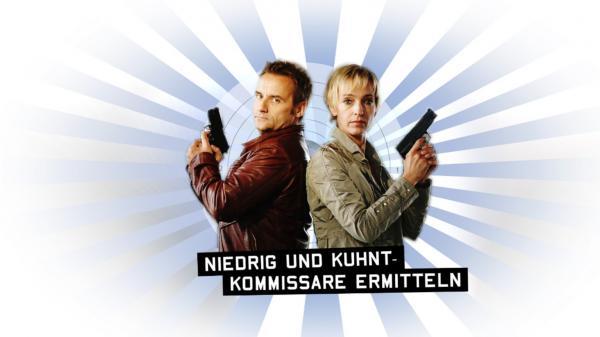 Bild 1 von 3: 'Niedrig (Cornelia Niedrig, r.) und Kuhnt (Bernie Kuhnt, l.) - Kommissare ermitteln' ...