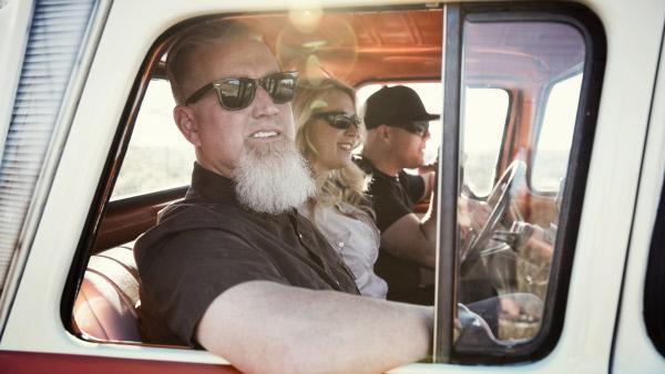 Bild 1 von 4: Shag, Amanda and Joe