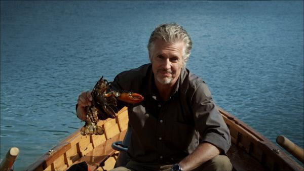 Bild 1 von 1: Was hat Moderator und Bestsellerautor Frank Schätzing mit einem Hummer auf offener See zu schaffen? Keine Angst: Beide überstehen das Zusammentreffen unverletzt - und der Zuschauer weiß nach der Moderation sogar etwas mehr über die berühmte \