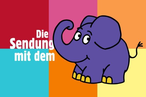 Bild 1 von 1: Die Sendung mit dem Elefanten
