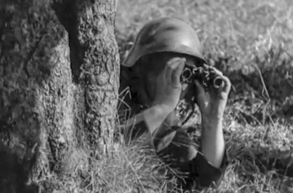 Bild 1 von 3: Angesichts der sich anbahnenden Bedrohung durch den bevorstehenden Weltkrieg berief die Schweiz 1939 ihre Mitbürger zum Wehrdienst ein.