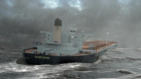 In Seenot: Der Untergang der MV Derbyshire