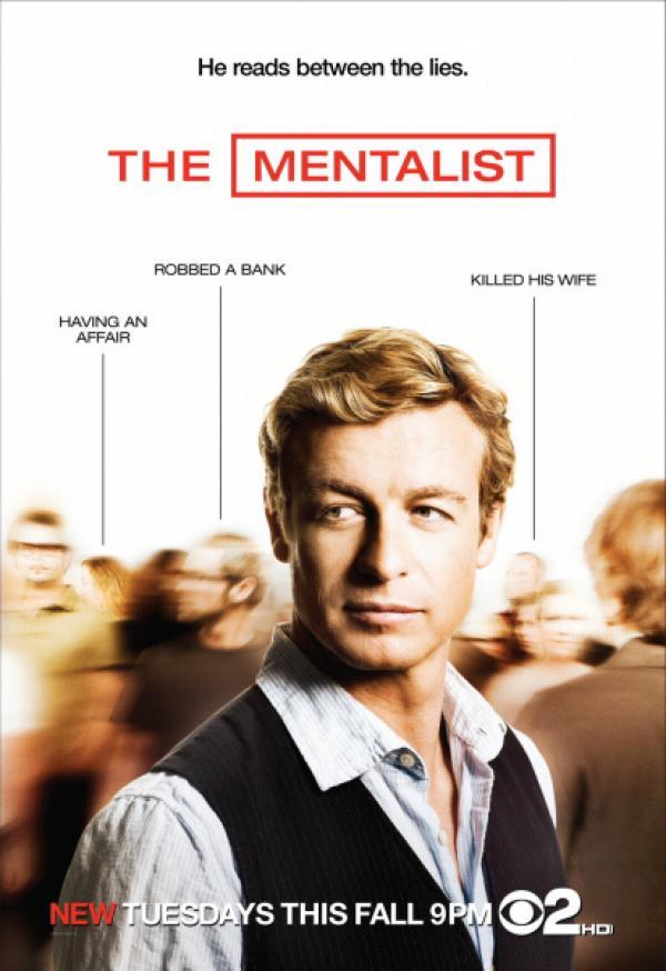 Bild 1 von 10: The Mentalist - Plakatmotiv