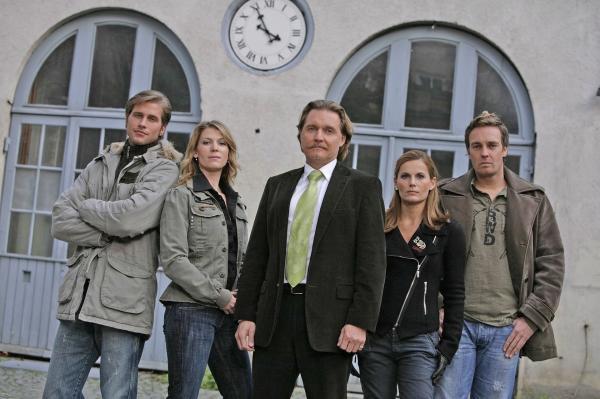 Bild 1 von 17: Ingo Lenßen (M.) und sein Team: Sebastian Thiele (l.), Katja Hansen (2.v.l.), Sandra Nitka (2.v.r.) und Christian Storm (r.)