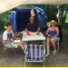 Wasser, Zelte, Mückenstiche