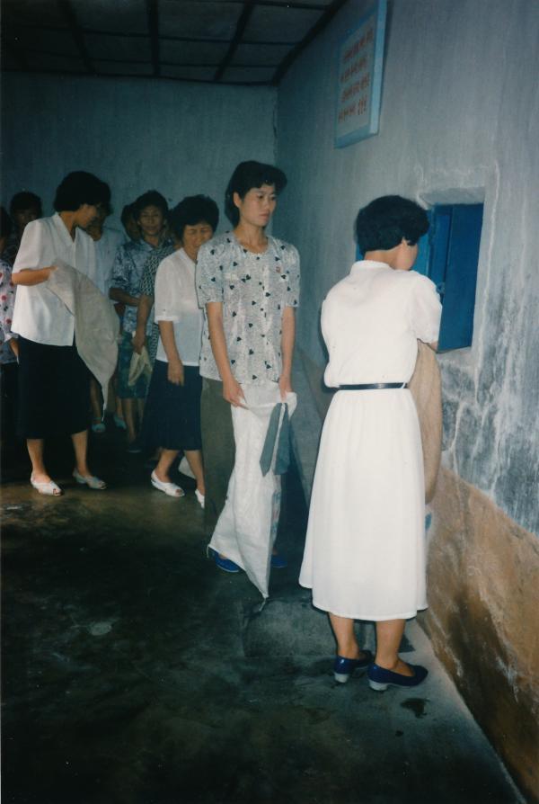 Bild 1 von 3: Die Bevölkerung Nordkoreas leidet unter chronischer Mangelernährung. Wer sich über die Zustände beschwert, riskiert, in einem Arbeitslager zu enden.