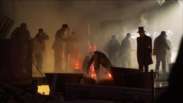 Bild 1 von 3: Stahlfabrikation mit Gussstahl.