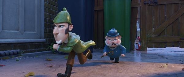 Bild 1 von 11: Sherlock Gnomes (l.); Dr. Watson (r.)