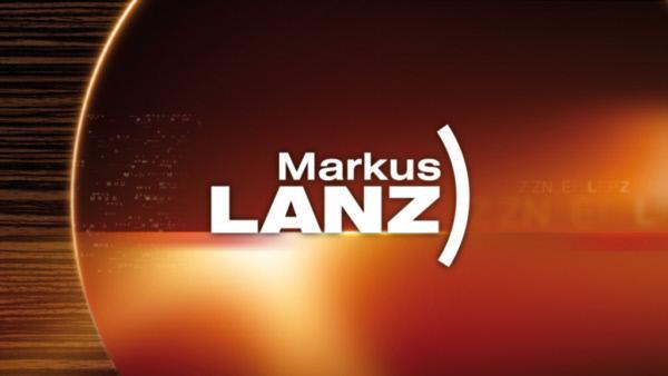 """Bild 1 von 2: Logo: """"Markus Lanz""""."""