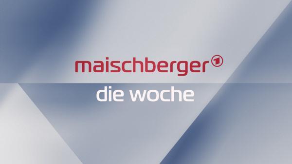 Bild 1 von 2: Logo Talkshow mit Sandra Maischberger Mittwochs im Ersten.