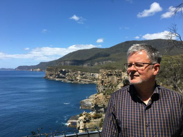 Bild 1 von 5: Christopher Clark auf der Insel Tasmanien, die zum australischen Kontinent gehört.