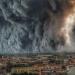 Vom Feuer bedroht - Waldbrand in Portugal