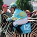 Im Rennstall ist das Zebra los