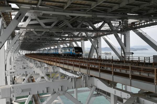 Bild 1 von 6: Der Bau der über 13 Kilometer langen Großen Setobrücke war ein Traum der japanischen Bevölkerung, der erst nach 100 Jahren Wirklichkeit wurde.