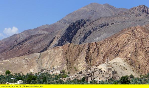 Bild 1 von 1: Verlassene Oasenstadt Birkat Al-Mawz.