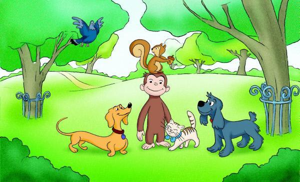 Bild 1 von 1: Coco, der neugierige Affe