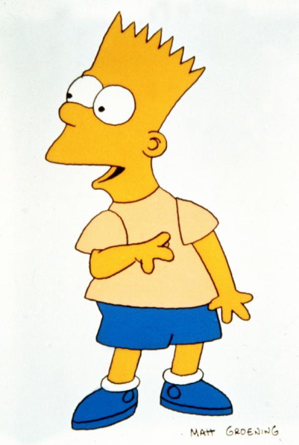 Bild 1 von 7: (4. Staffel) - Der Schrecken seiner Eltern, Schwestern und Lehrer: Bart Simpson.