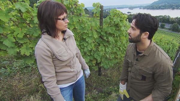 Bild 1 von 5: Emma Klingmann hat von ihrem Opa ein Weingut geerbt. Zusammen mit ihrem Mann Mike möchte sie es weiterführen. Doch der Nachbarwinzer macht ihnen das Leben schwer.