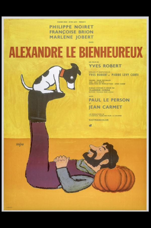 Bild 1 von 5: Alexander Gartempe (Philippe Noiret) tollt mit seinem treuen Weggefährten in Yves Roberts Film \