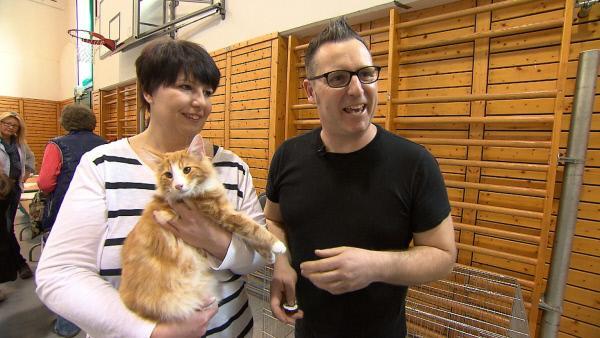 Bild 1 von 22: Vor etwa einem Monat hat sie zwei Norwegische Waldkatzen-Kitten bei einer Züchterin gekauft. Jetzt wollen Tanja (l.) und Jens (r.) eine Katzenzucht eröffnen. Doch geht das gut?