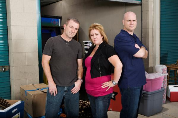 Bild 1 von 1: Lori and Brandon Bernier and Sean Kelly (v.l.n.r.)