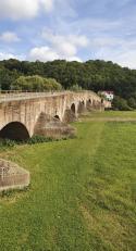 Die Brücke der Einheit in Vacha