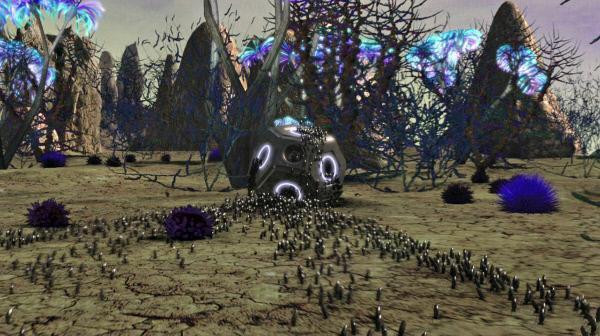 Bild 1 von 3: M�glicherweise sind uns Au�erirdische nicht nur technisch weit voraus. M�ssen wir uns vor einer Invasion aus dem All in Acht nehmen?