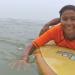 Surfen um frei zu sein