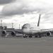 Boxenstopp für eine A380 - Putzen, checken, tanken