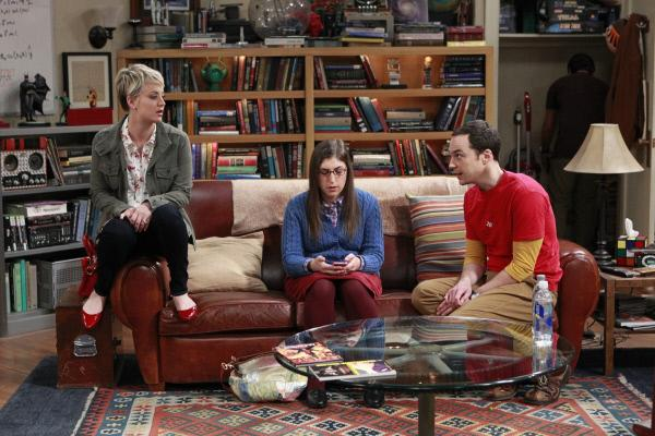 Bild 1 von 12: Ein ganz besonderer Ausflug wartet auf Sheldon (Jim Parsons, r.), Penny (Kaley Cuoco, l.) und Amy (Mayim Bialik, M.) ...
