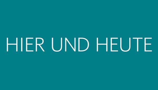Bild 1 von 1: Hier und Heute - Logo